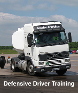 defensive driver training Truck Anti Rollover Skid Training