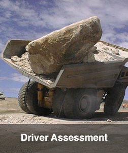 Truck Anti Rollover Skid Training driver assessment